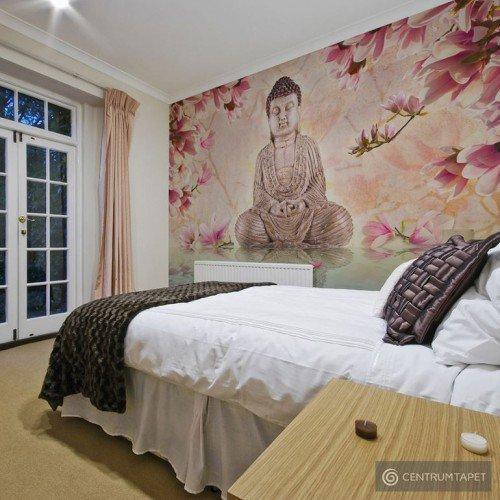 Fototapeta Budda i magnolia 10040907-48