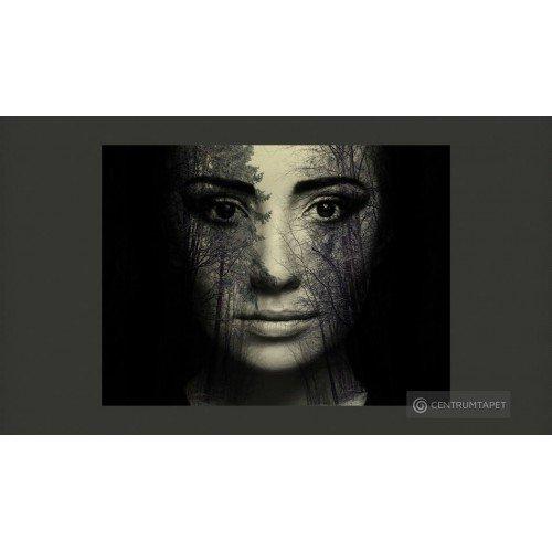 Fototapeta Forest mask...