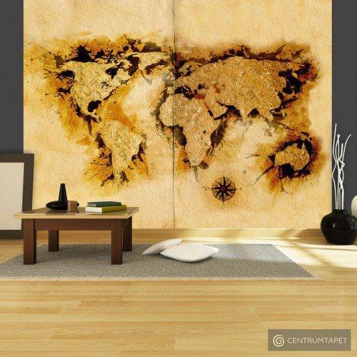 Fototapeta Mapa poszukiwaczy złota 10040910-18