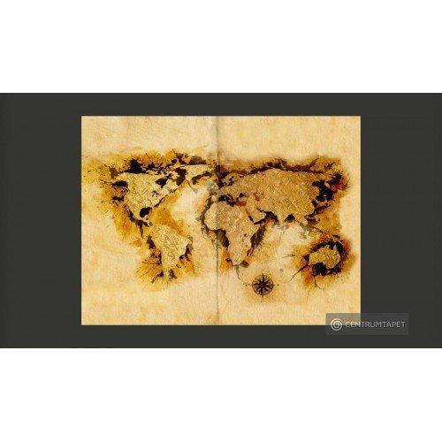 Fototapeta Mapa...