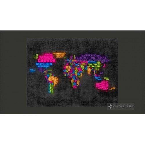 Fototapeta Mapa po włosku -...