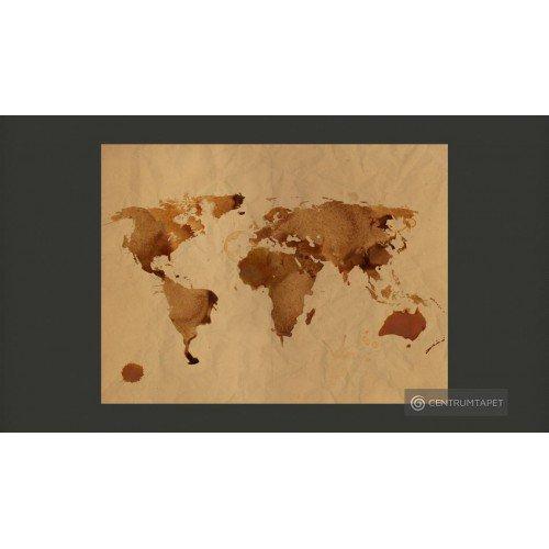 Fototapeta Herbaciana mapa...