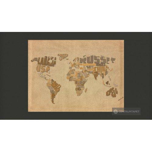 Fototapeta Mapa odkrywców...