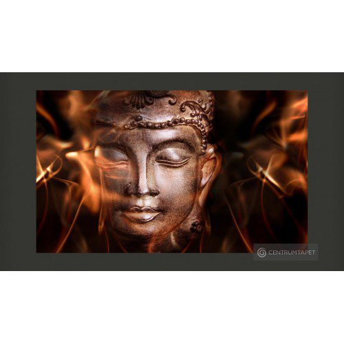 Fototapeta Buddha. Fire of...