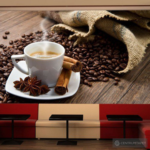 Fototapeta Star anise coffee 100608-3