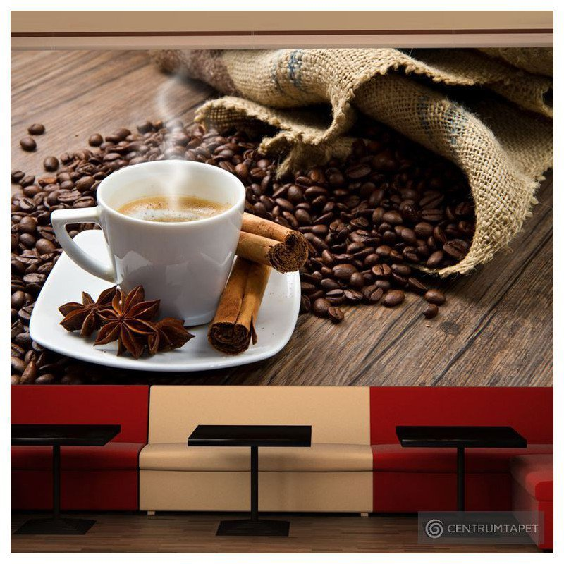 Fototapeta Star anise coffee 100608-3