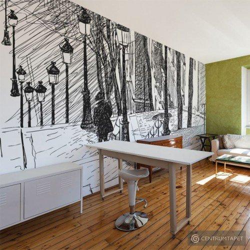 Fototapeta schody - Montmartre 100604-30