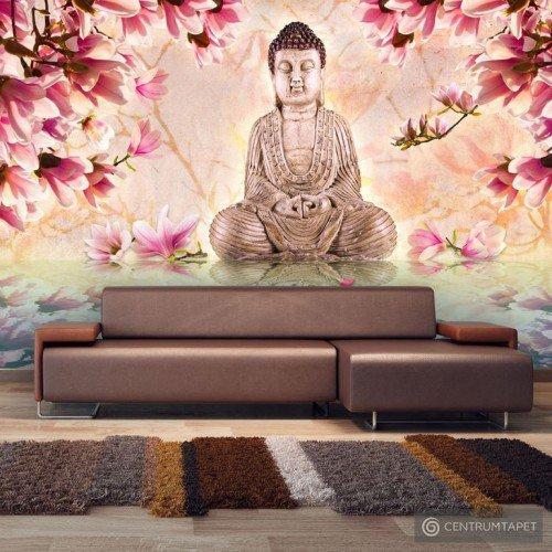 Fototapeta Budda i magnolia 10060907-5