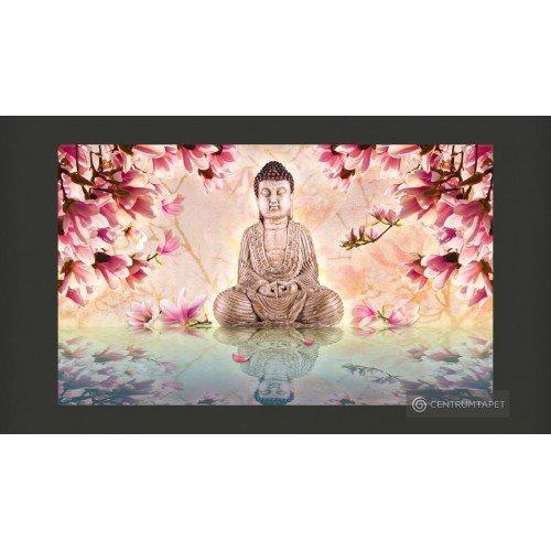 Fototapeta Budda i magnolia...