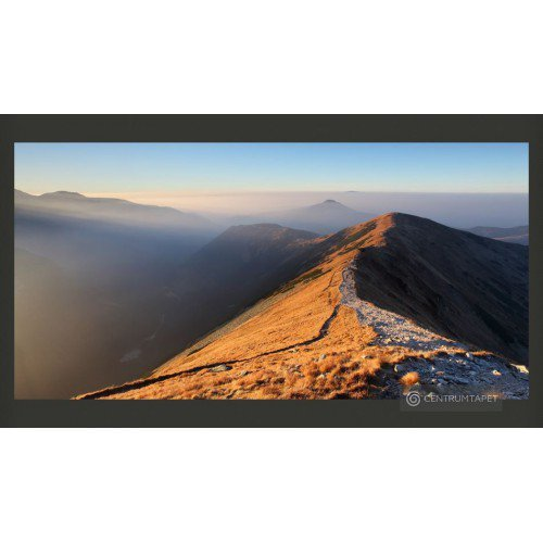Fototapeta Szlak w Tatrach...