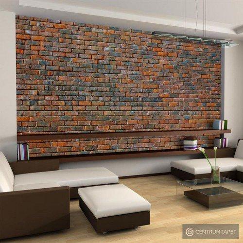 Fototapeta Ściana z cegły 100705-1