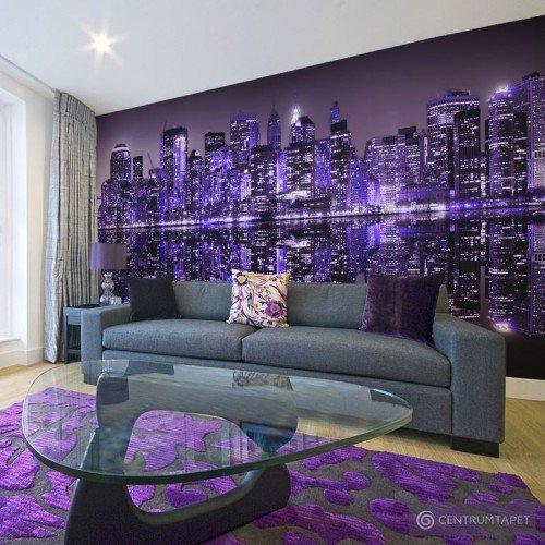 Fototapeta American violet 10070904-16