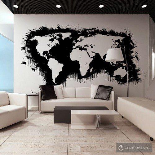 Fototapeta Białe kontynenty