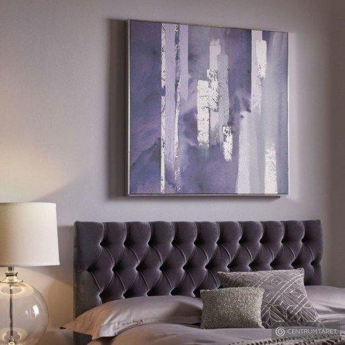 Obraz ręcznie malowany 104015 Fioletowa harmonia Graham&Brown
