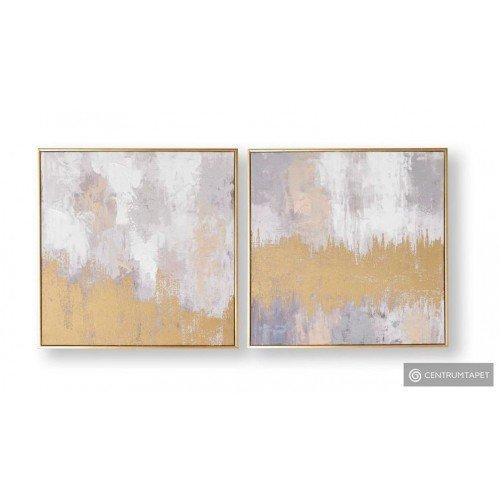 Obraz 2-częściowy ręcznie malowany 104017 Laguna Mist Graham&Brown