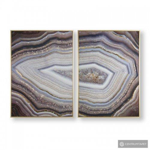 Obraz 2-częściowy w ramie 105885 Glamorous Gems Graham&Brown