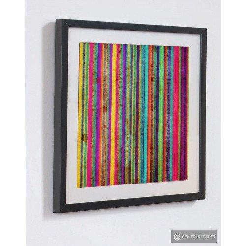 Obraz w ramie 41-321 Kolorowe pasy Graham&Brown