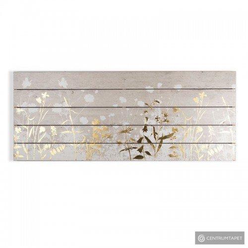 Obraz na drewnie Złota łąka...