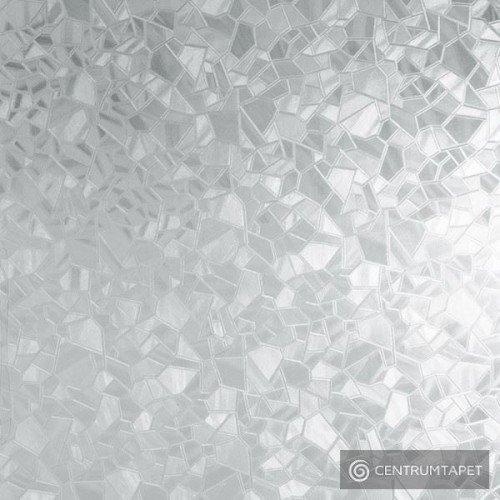 Okleina statyczna 216-0011 srebrne odłamki 45cm
