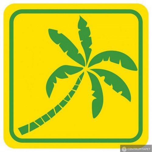 Naklejka ścienna SPN82WS Zielona Palma