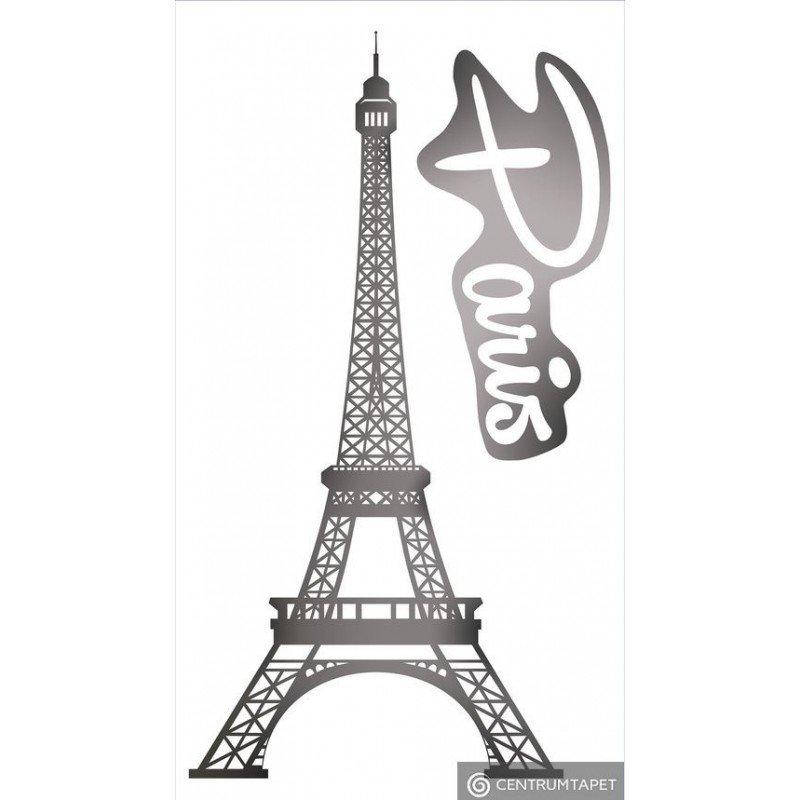 Naklejka ścienna SPN99TS Grey Paris