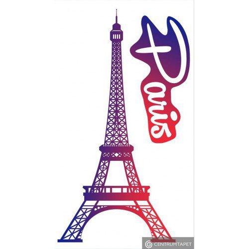 Naklejka ścienna SPN100TS Disney Paris