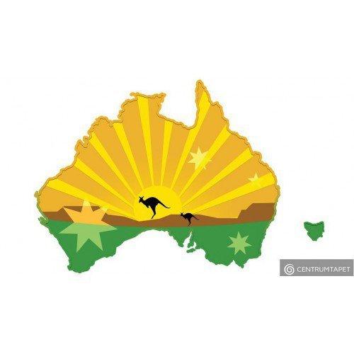 Naklejka ścienna Australia SPN103WS