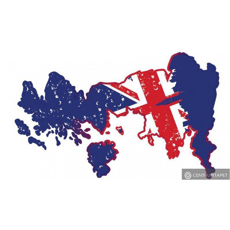 Naklejka ścienna UK SPN106WS