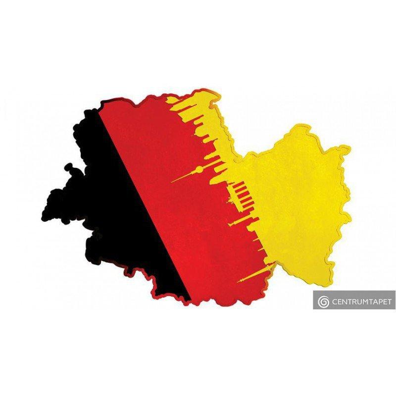 Naklejka ścienna Germany SPN108WS