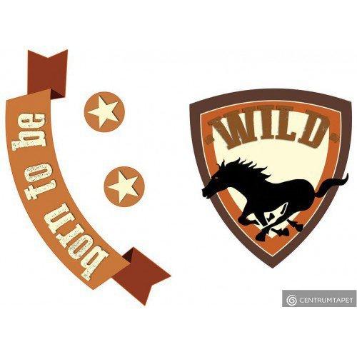 Naklejka ścienna Born to Be the Wild SPN110WD