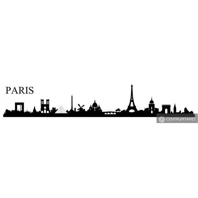 Naklejka ścienna PARIS SPA4