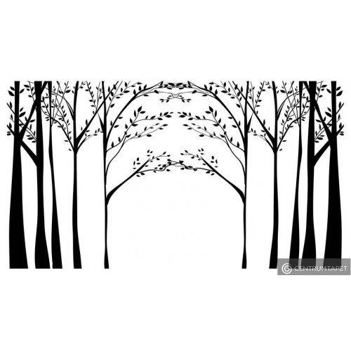 Naklejka ścienna Drzewa SPN168TS