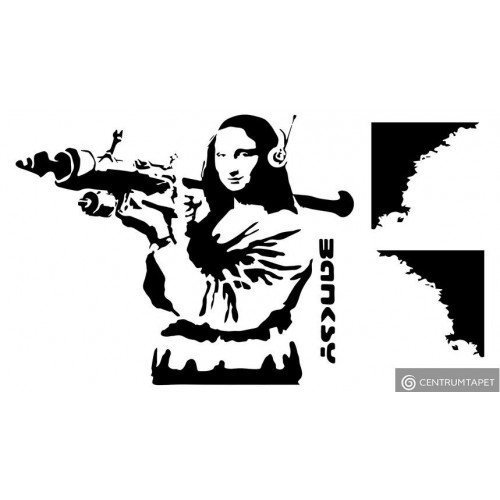 Naklejka ścienna Mona Lisa SPN194TS