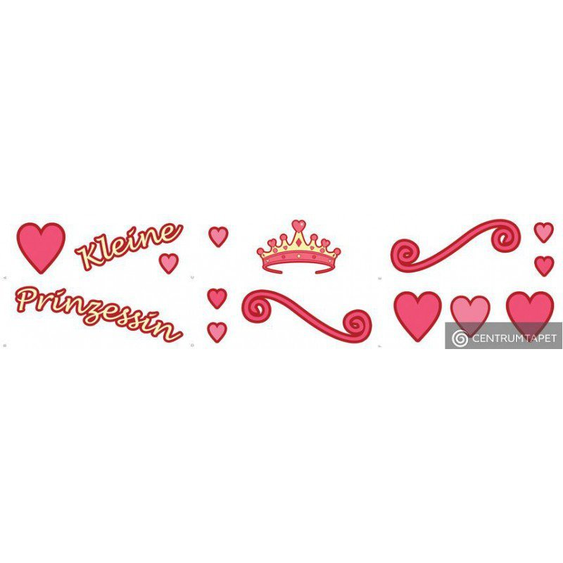 Naklejka ścienna Kleine Prinzessin SPN122T6