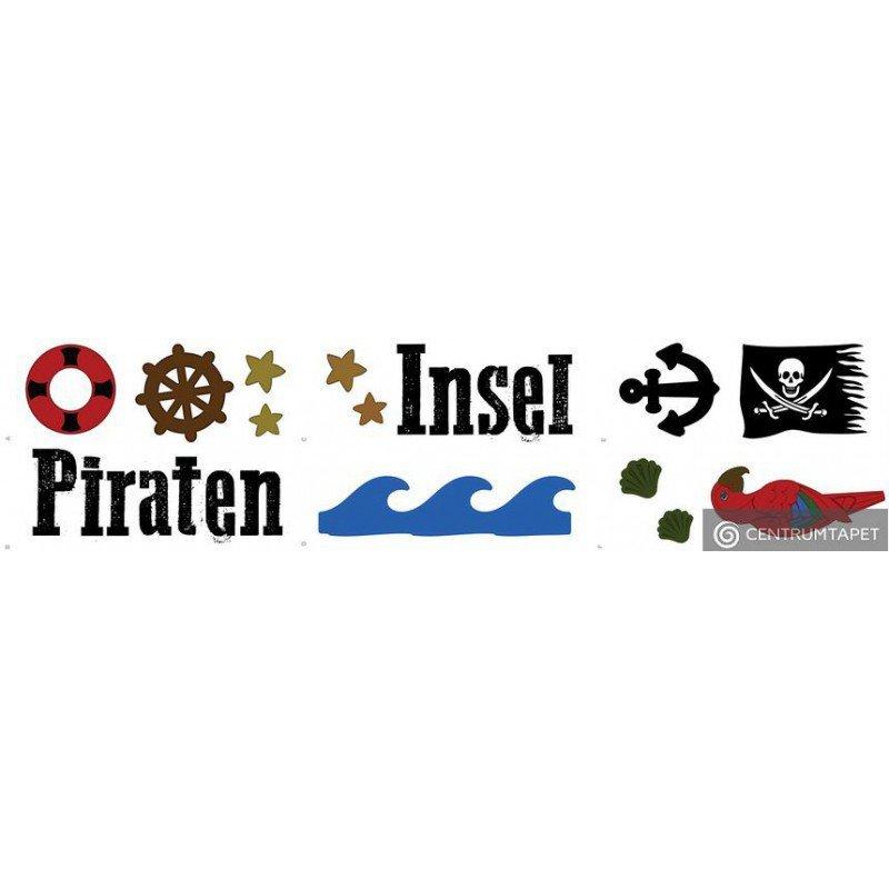 Naklejka ścienna Piraten Insel SPN125T6