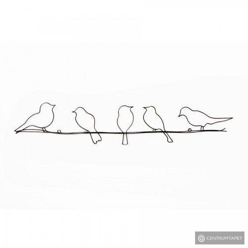 Dekoracja ścienna Ptaki na...