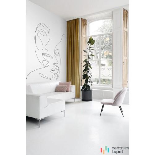 Fototapetaa 138536 Black & White with a splash of gold Esta Home