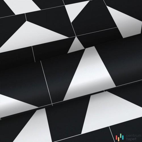 Tapeta 139087 Black & White with a splash of gold Esta Home