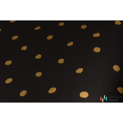 Tapeta 139122 Black & White with a splash of gold Esta Home