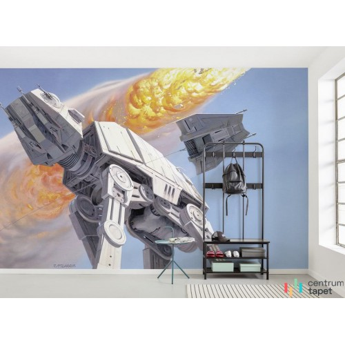 Fototapeta DX10-053 Star Wars Classic RMQ Hoth Battle AT-AT