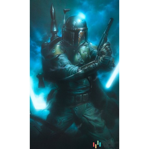 Fototapeta DX3-034 Star Wars Classic Bounty Hunter