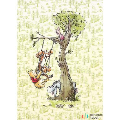 Fototapeta DX4-017 Winnie Pooh in the wood