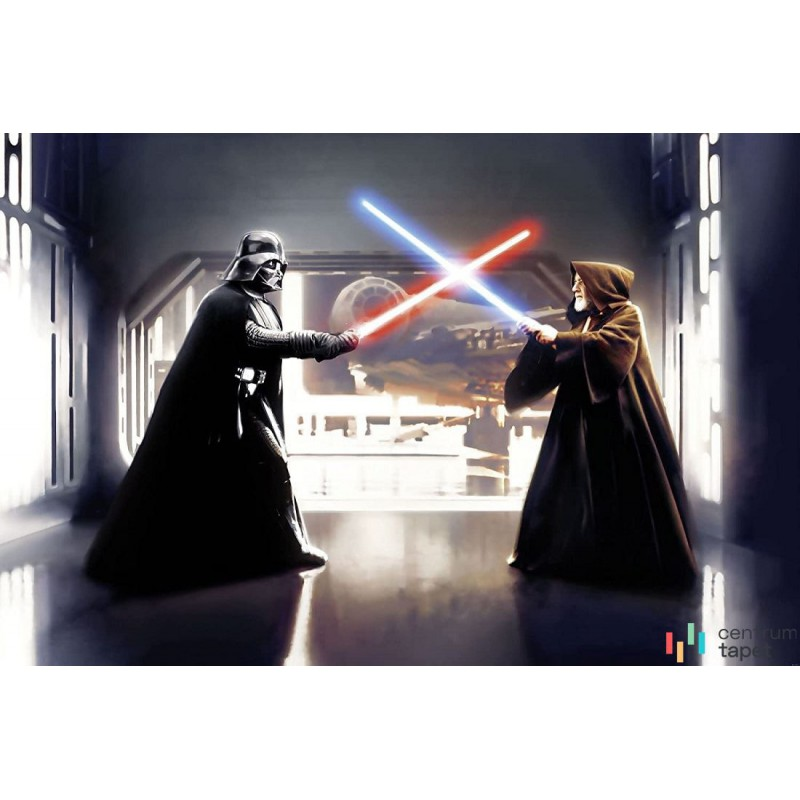 Fototapeta 007-DVD3 Star Wars Vader vs. Kenobi