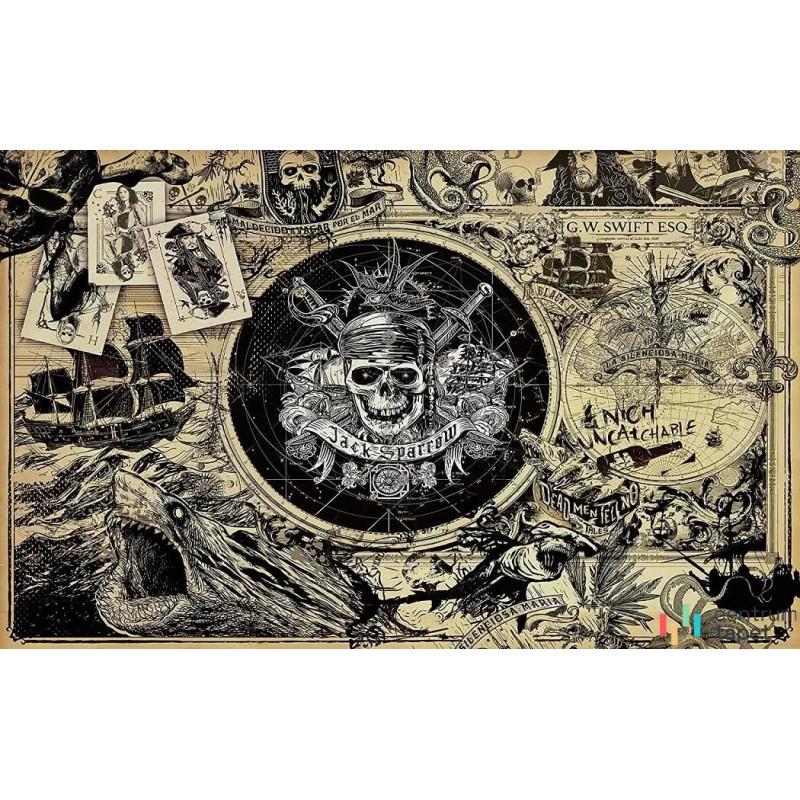 Fototapeta 024-DVD4 Pirates of the Caribbean 5