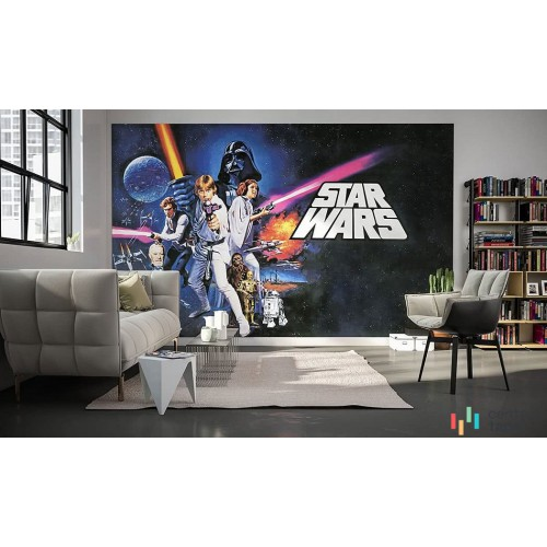 Fototapeta 026-DVD4 Star Wars Poster Classic 1