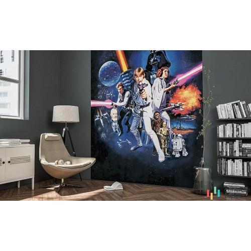Fototapeta 026-DVD2 Star Wars Poster Classic 1