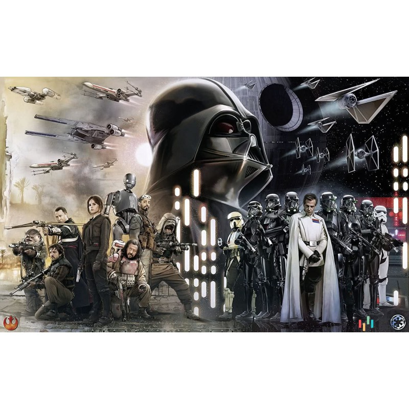 Fototapeta 028-DVD4 Star Wars Collage