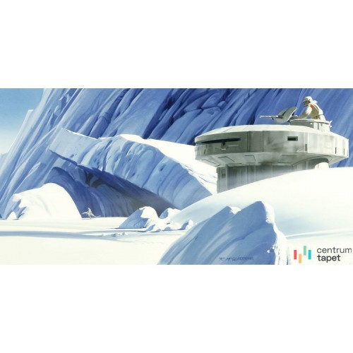 Fototapeta DX10-056 Star Wars Classic RMQ Hoth Echo Base