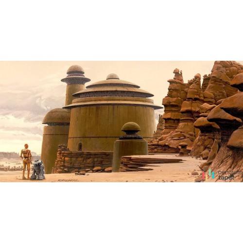 Fototapeta DX10-057 Star Wars Classic RMQ Jabbas Palace