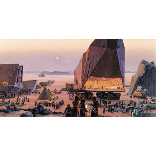 Fototapeta DX10-058 Star Wars Classic RMQ Java Market
